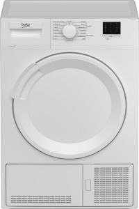 Beko Freestanding Condenser Tumble Dryer DTLCE80041W - White