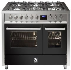 Steel Range Cooker Dual Fuel E10FF-6-AN - Anthracite