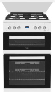 Beko Slot In Cooker Gas Nat EDG6L33W - White
