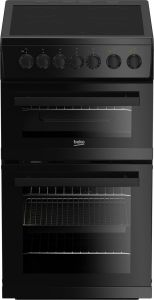 Beko Slot In Cooker Ceramic EDVC503B - Black