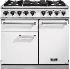 Falcon Range Cooker Dual Fuel F1000DXDFWH-NM - White