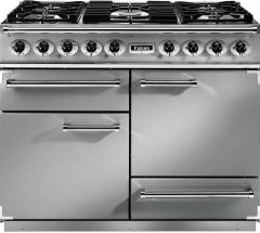 Falcon Range Cooker Dual Fuel F1092DXDFSS-CM - Stainless Steel / Chrome