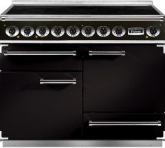 Falcon Range Cooker Induction F1092DXEIBL-C-EU - Black / Chrome