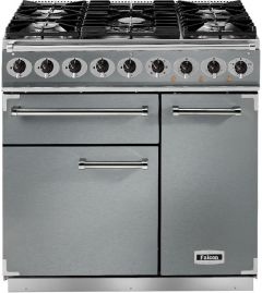 Falcon Range Cooker Dual Fuel F900DXDFSS-CM - Stainless Steel / Chrome
