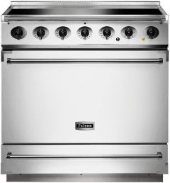 Falcon Range Cooker Induction F900SEIWH-N - White / Nickel