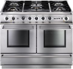 Falcon Range Cooker Dual Fuel FCON1092DFSS-CM - Stainless Steel / Chrome