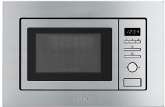 Smeg Microwave & Grill FMI020X - Stainless Steel