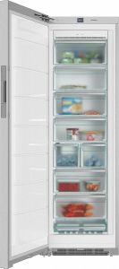 Miele Freestanding Upright Freezer Frost Free FNS28463E - Cleansteel