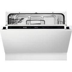 AEG Built In Compact Dishwasher FSE21200P - Fully Integrated