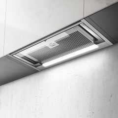 Elica Telescopic Hood GLASS-OUT-90 - Stainless Steel / Glass