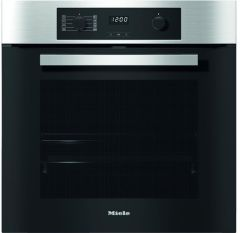 Miele Single Oven Electric H2265-1BP - Clean Steel