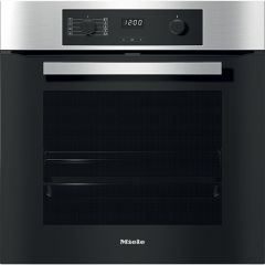 Miele Single Oven Electric H2267-1BP - Clean Steel