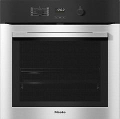 Miele Single Oven Electric H2760BP - Clean Steel