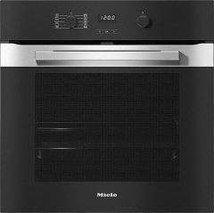 Miele Single Oven Electric H2860BP - Clean Steel