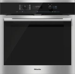 Miele Single Oven Electric H6160BP-CLST - Cleansteel