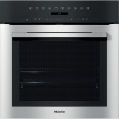 Miele Single Oven Electric H7164BP - Clean Steel