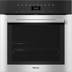 Miele Single Oven Electric H7364BP - Clean Steel