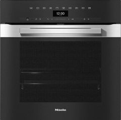 Miele Single Oven Electric H7464BP-CLST - Clean Steel
