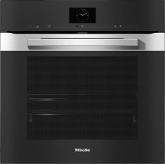 Miele Single Oven Electric H7660BP - Clean Steel