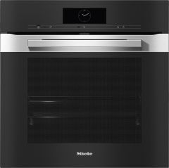 Miele Single Oven Electric H7860BP-CLST - Clean Steel
