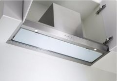 Airuno Integrated Hood HIDEAWAY - Stainless Steel / Glass