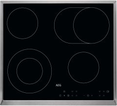 AEG Ceramic Hob HK634060XB - Stainless Steel
