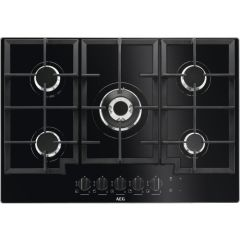 AEG Gas Hob HKB75NB540 - Black