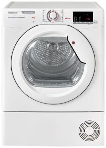 Hoover Freestanding Condenser Tumble Dryer HLXC8DG - White