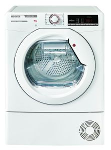 Hoover Freestanding Condenser Tumble Dryer HLXC9TE - White