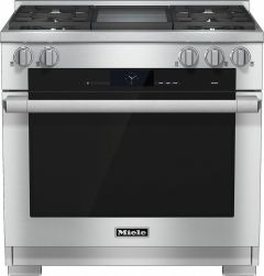Miele Range Cooker Dual Fuel HR1936G-1 - Stainless Steel