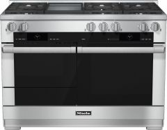 Miele Range Cooker Dual Fuel HR1956G-1 - Stainless Steel
