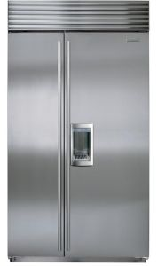 Sub-Zero Built In American Style Refrigeration ICBBI42SD-S-TH - Stainless Steel