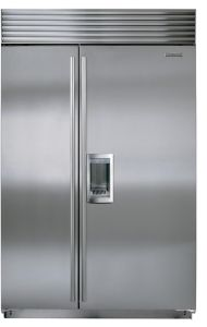 Sub-Zero Built In American Style Refrigeration ICBBI48SD-S-PH - Stainless Steel