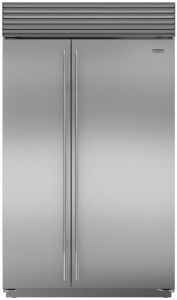 Sub-Zero Built In American Style Refrigeration ICBBI48SID-S-TH - Stainless Steel