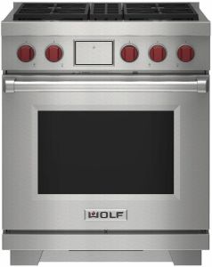 Wolf Range Cooker Dual Fuel ICBDF30450-S-P - Stainless Steel