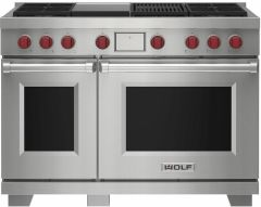 Wolf Range Cooker Dual Fuel ICBDF48450CG-S-P - Stainless Steel