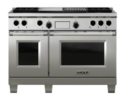 Wolf Range Cooker Dual Fuel ICBDF484CG - Stainless Steel