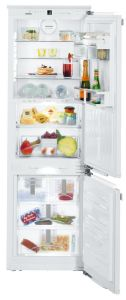 Liebherr Built In Fridge Freezer Frost Free ICBN3386 - Fully Integrated