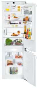 Liebherr Built In Fridge Freezer Frost Free ICN3386 - Fully Integrated