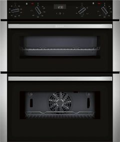 NEFF Double B/U Oven Electric J1ACE2HN0B - Stainless Steel / Black