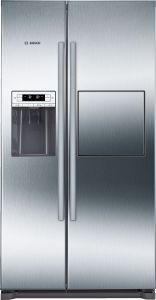 Bosch Freestanding American Style Refrigeration KAG90AI20G - Stainless Steel Look