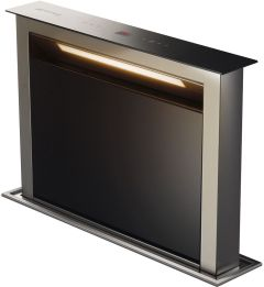 Smeg Down Draft Extractor KDD60VXE-2 - Stainless Steel / Black