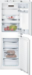Bosch Built In Fridge Freezer Frost Free KIN85AFE0G - Fully Integrated
