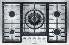 Miele Gas Hob KM2335 - Stainless Steel