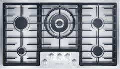 Miele Gas Hob KM2354SS - Stainless Steel