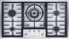 Miele Gas Hob KM2357-1 - Stainless Steel