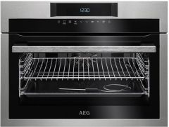 AEG Compact Oven KPE742220M - Stainless Steel