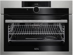 AEG Compact Oven KPE842220M - Stainless Steel