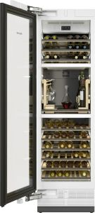 Miele Built In Wine Cooler KWT2672-VIS-LHH - Tinted Glass