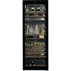 Miele Freestanding Wine Cooler KWT6834SGS - Black